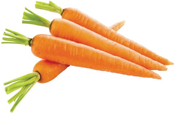 Cà rốt chống nhăn da
