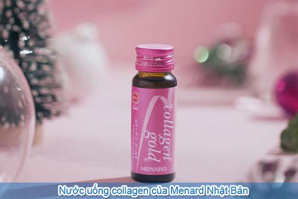 Nước uống collagen của Menard Nhật Bản