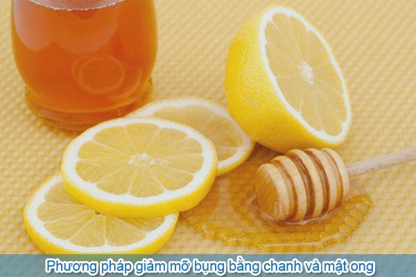 Phương pháp giảm mỡ bụng bằng chanh và mật ong