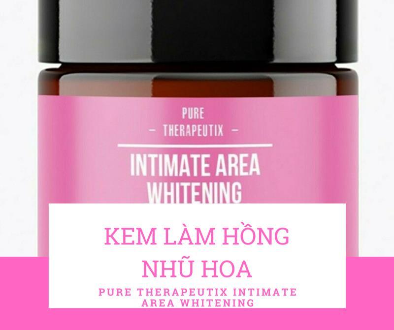 Pure Therapeutix Intimate Area Whitening