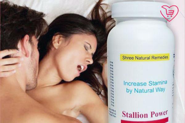 Thuốc uống chữa xuất tinh sớm Stallion Power