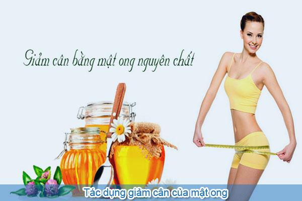 Tác dụng giảm cân của mật ong
