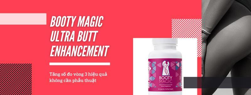 Thuốc tăng vòng 3 Booty Magic Ultra Butt Enhancement