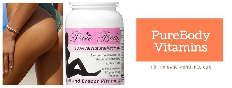 Viên uống nở mông PureBody Vitamins